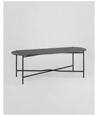 Журнальный стол Хименес стеклянный 120х40х40 см