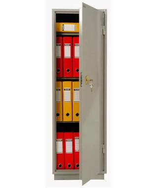 Металлический бухгалтерский шкаф КБ - 21 / КБС - 21