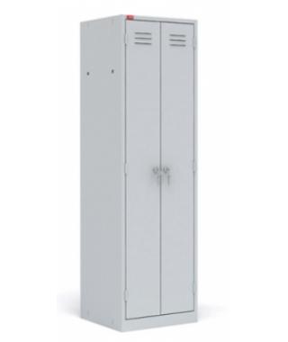 Металлический шкаф для одежды ШРМ-22