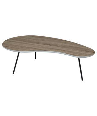 Журнальный стол Wood 61 122*67 дуб серо-коричневый винтажный