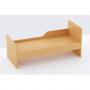 Кровать одноярусная с бортом безопасности (ЛДСП)
