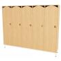Шкаф для одежды 5-ти секционный