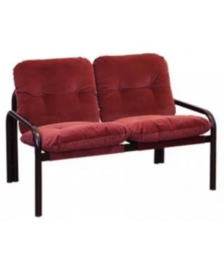 Диван двухместный со съемными подушками