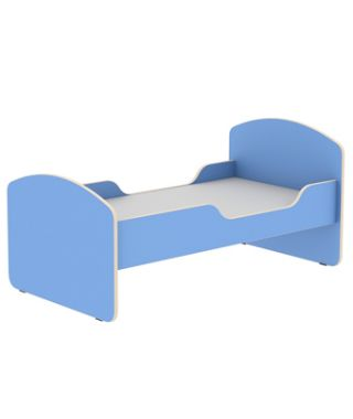 Кровать детская №2 с бортом