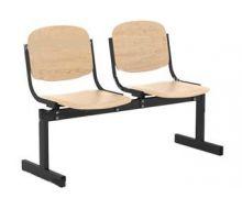 Кресло 2-местное, не откидывающиеся сиденья