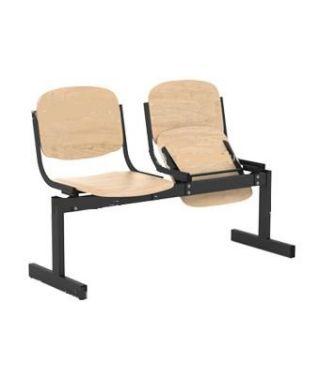 Кресло 2-местное, откидывающиеся сиденья