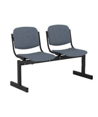 Кресло 2-местное, не откидывающиеся сиденья, мягкий