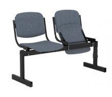 Кресло 2-местное, откидывающиеся сиденья, мягкий