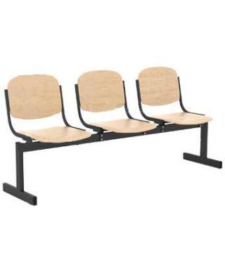 Кресло 3-х местное, не откидное