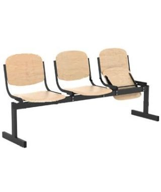 Кресло 3-местное, откидывающиеся сиденья