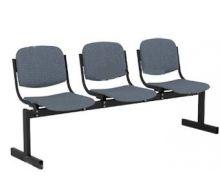 Кресло 3-местное, не откидывающиеся сиденья, мягкий