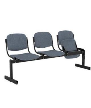 Кресло 3-местное, откидывающиеся сиденья, мягкий