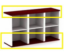 Панели для шкафов большие В-830