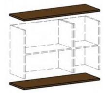 Панели для шкафов средние В-840