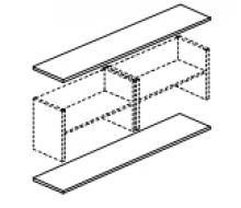 Панели для шкафов большие В-860