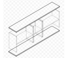 Панели для шкафов большие В-870
