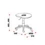 "Кресло  ""Хокер+"" (пиастра/лара BL, PL - г/п 130 мм)"