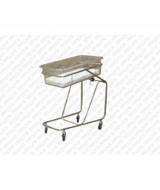 Кровать для новорожденных КН-02-Аском (нержавейка)